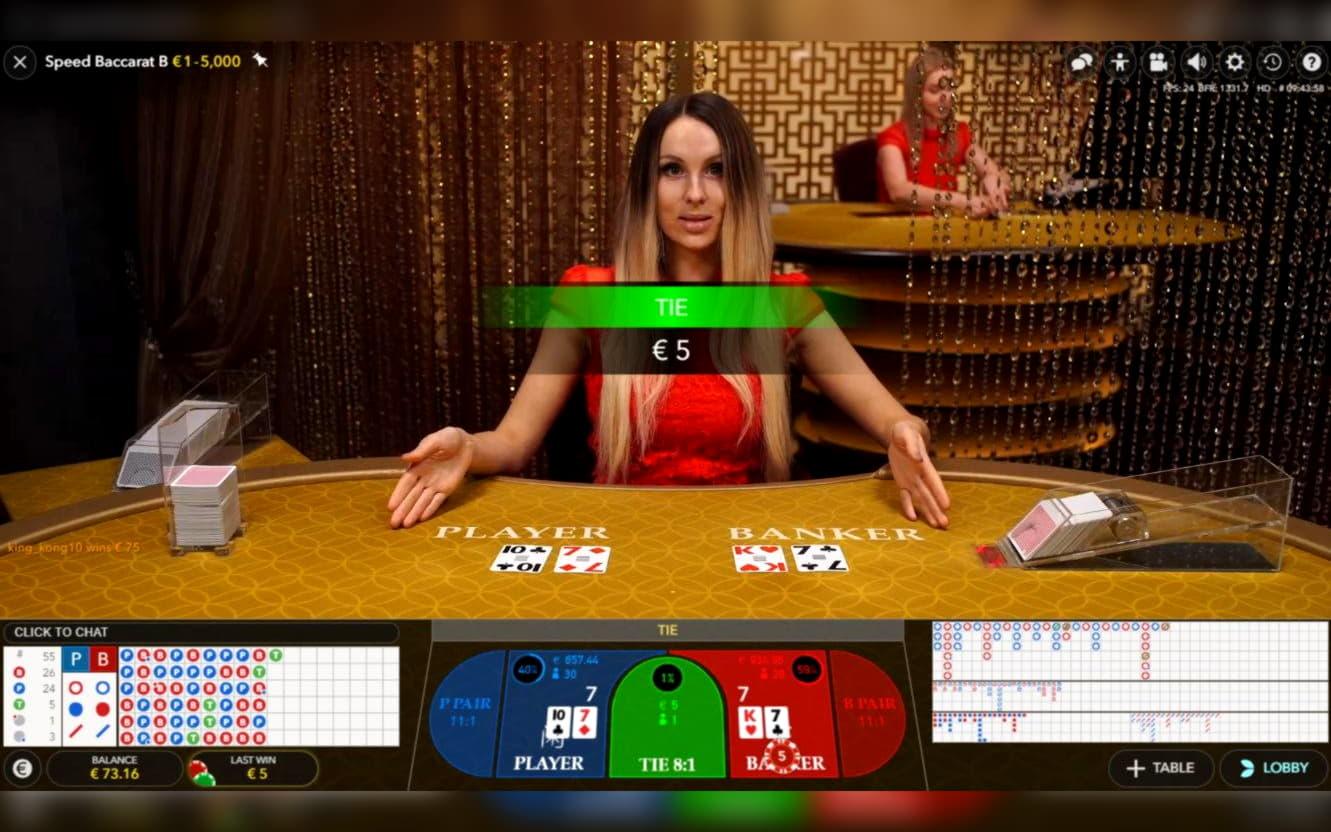 $ 210 การแข่งขันคาสิโนที่ Casino Max