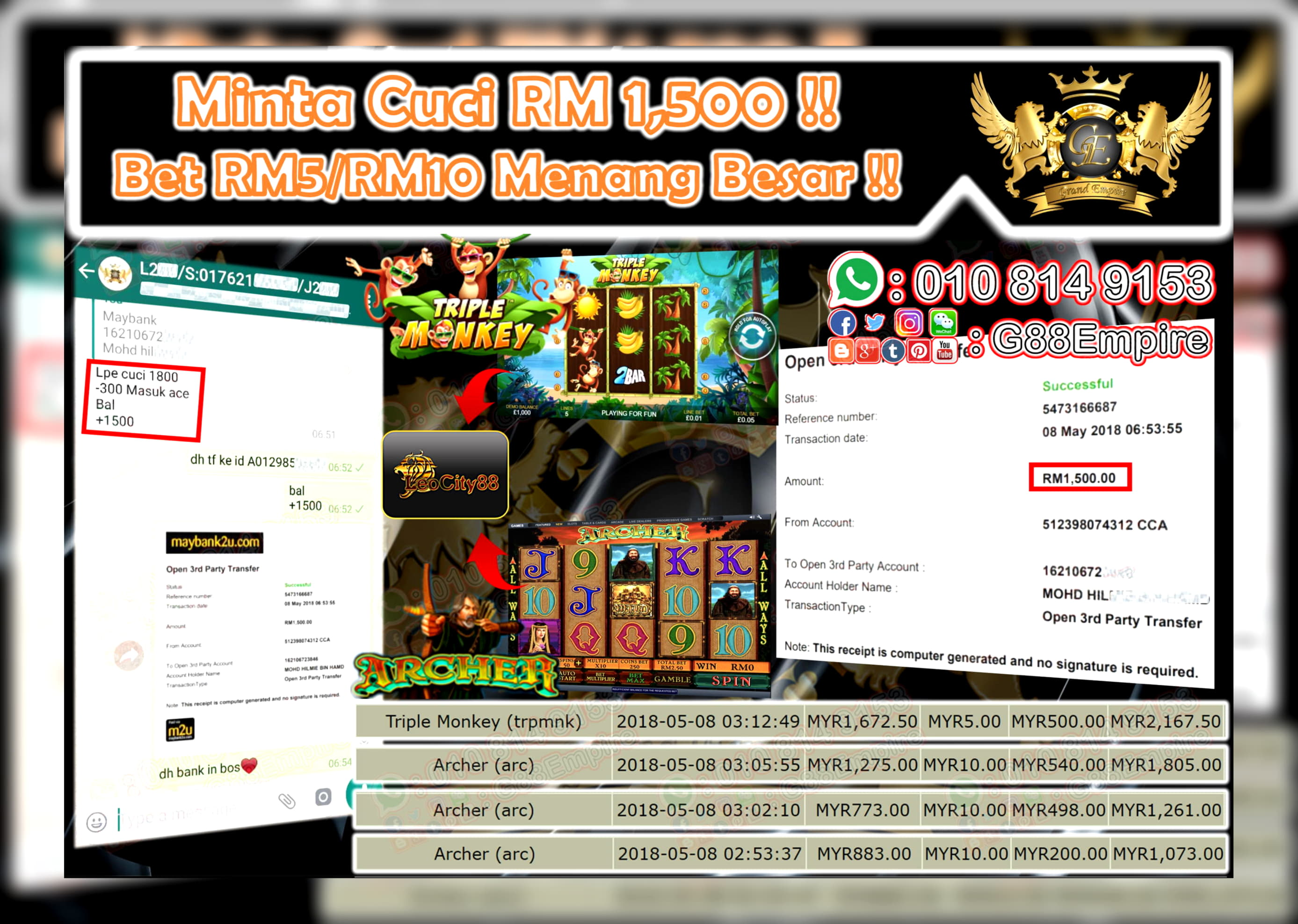 $ 85 ฟรีชิปคาสิโนที่ Casino Max