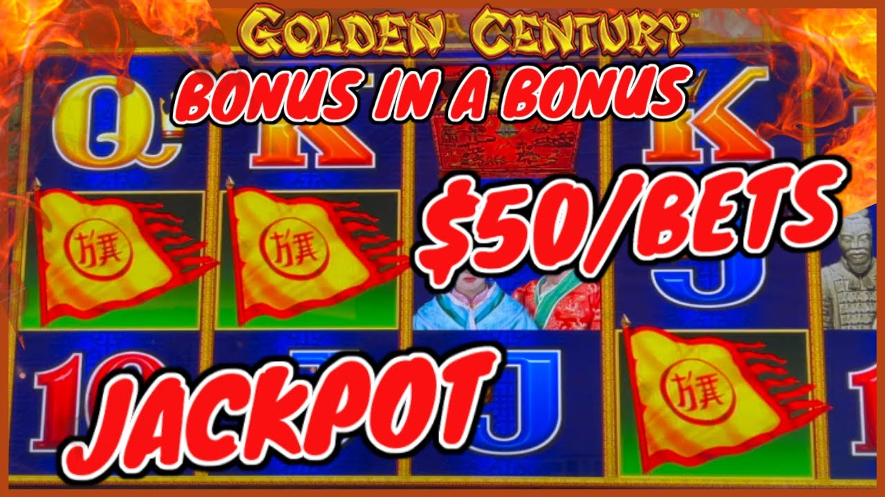 HANDPAY JACKPOT Dragon Link Golden Century 50 dollarin bonuskierros KORKEA sidottu hedelmäpeli Worldwides Casino