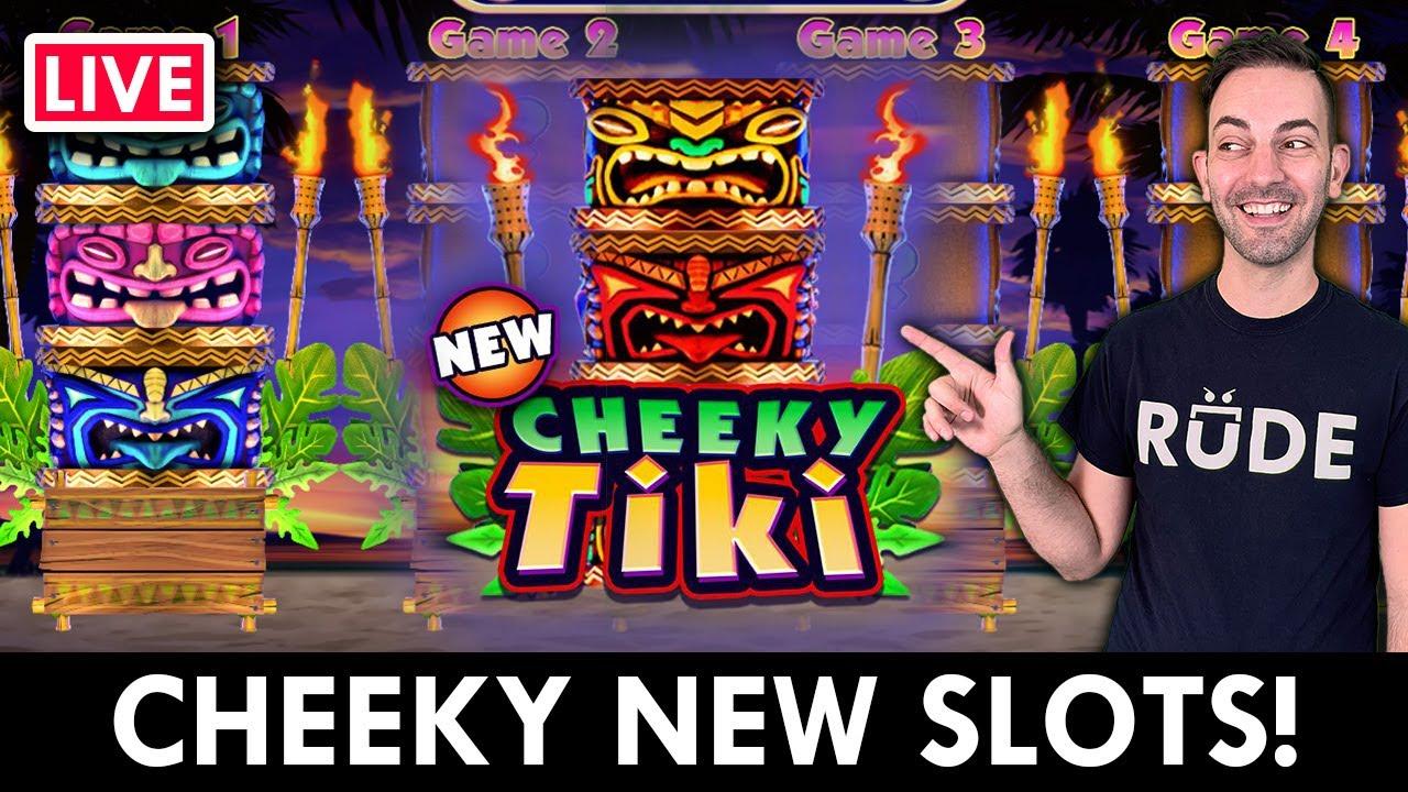 🔴 LIVE - Cheeky New SLOTS on PlayLuckyland Social Worldwide Casino Online