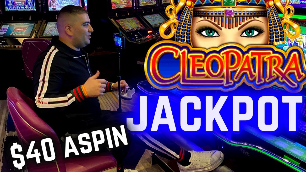 JACKPOT HANDPAY On High boundary Cleopatra 2 Slot! Las Vegas Worldwides Casino JACKPOT