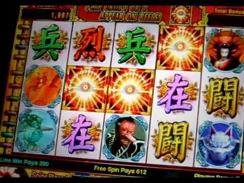 Shinobi Slot Machine BONUSES - 1c IGT Game in SOBOBA Worldwide Casino Online