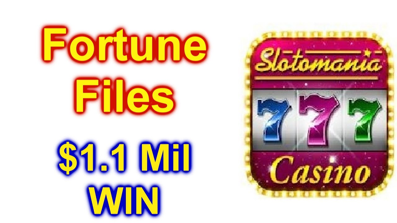 """Slots grátis Slotomania: Jogos de caça-níqueis on-line do cassino mundial """"Arquivos da sorte"""" $ 1.1 milhão de ganhos"""